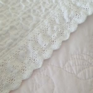 INUP Home  fine linens Other - Bed scarf or partial coverlet.